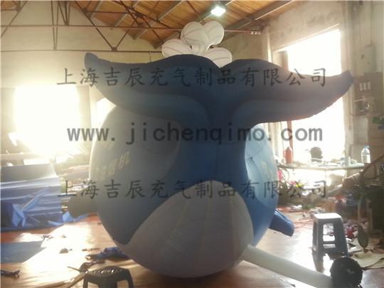 蓝鲸海底世界粘土手工制作